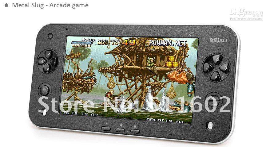 Free shipping New JXD S7100 android 2.3 tablet pc game player 7